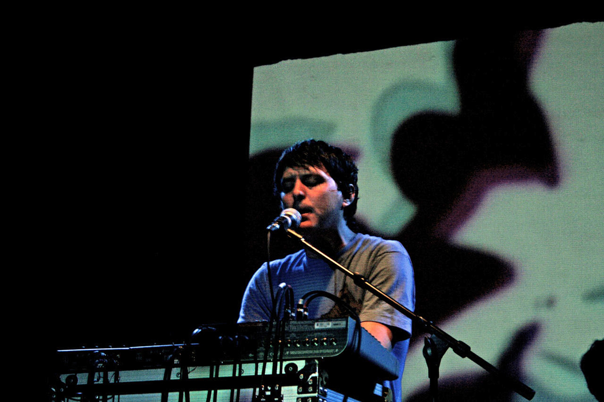 Noah Lennox, one of the members of Animal Collective, also has a solo project under the moniker Panda Bear. (credit: Courtesy of Daniel Arnold via Flickr)
