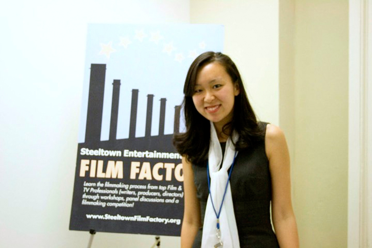 Yulin Kuang, a junior at Carnegie Mellon, is one of six finalists of the Steeltown Film Factory competition. (credit: Courtesy of Jonny Paterson)