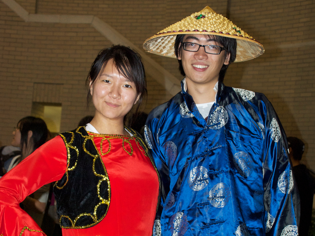 The multicultural fair gives more diverse student organizations a chance to promote their goals and values. (credit: Jessica Sochol/)