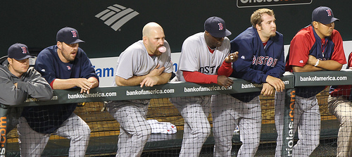 The Boston Red Sox have stumbled to the finish, making the AL Wild Card race a close one with the Tampa Bay Rays. (credit: courtesy of Keith Allison on flickr)