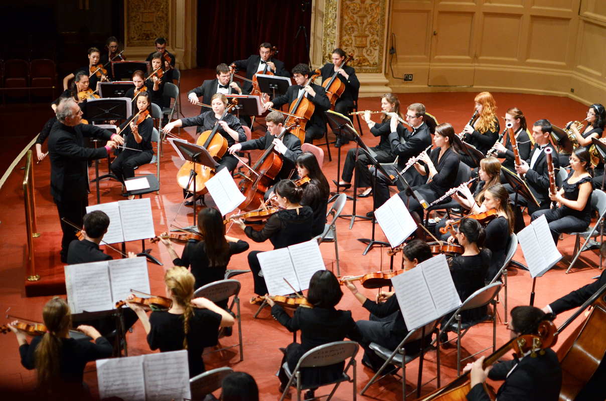The Carnegie Mellon Symphony Orchestra played its first concert of the season last Wednesday. (credit: David Chang/)