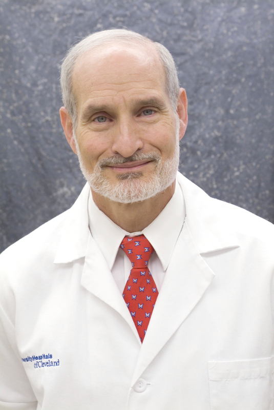"Hillard Lazarus is a renowned blood cancer expert. While he was a student at Carnegie Mellon, he learned to ""think differently."" (credit: Courtesy of Alumni Relations)"