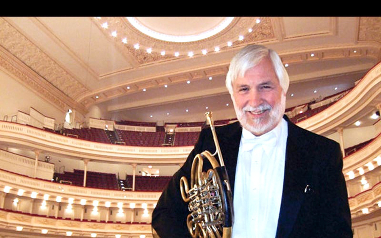 "Dale Clevenger is the Chicago Symphony Orchestra's principal horn player. He attributes his success to ""a lot of hard work and an excellent education"" at Carnegie Mellon. (credit: Courtesy of Alumni Relations)"