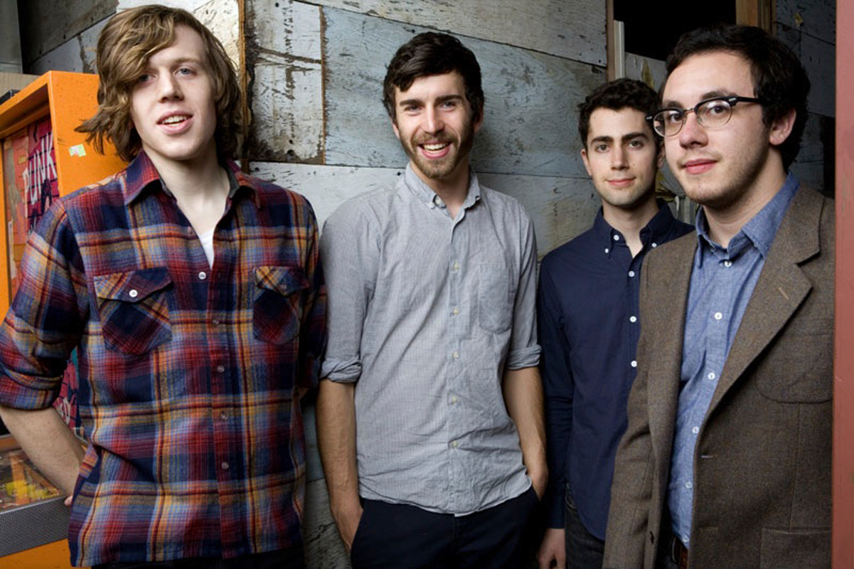 Tokyo Police Club is made up of David Monks, Graham Wright, Josh Hook, and Greg Alsop. (credit: Courtesy of Canvas Media)