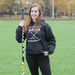 Bryn Loeffler is the only woman on the CMU club hockey team.