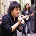 Free Bullet's lead singer Pei Pang entertained attendees of last Friday's Chinese Culture Late Night event.