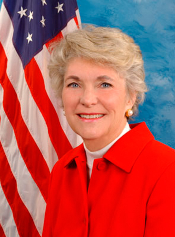 Former Congresswomen Beverly Byron (top) and Sue Kelly (bottom) discussed their experiences in the House of Representatives. (credit: Courtesy of Wikimedia Commons)