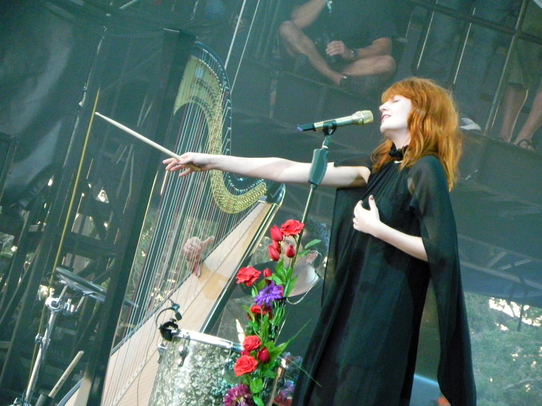 Florence Welch, the singer-songwriter behind Florence + The Machine, is known for her dreamy theatrics. (credit: Courtesy of JessicaSarahS via Flickr)