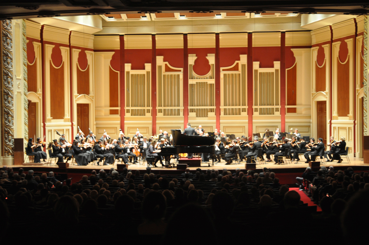The Pittsburgh Symphony Orchestra played Romantic period favorites at Heinz Hall last Friday. (credit: File Photo)