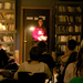 Senior creative writing major Samantha Frank read a poem and excerpts from three stories at the last creative writing student reading of the semester.