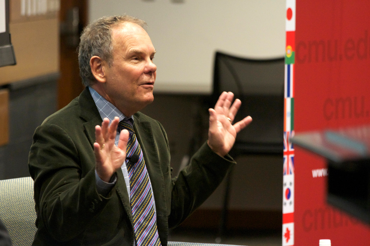Writer Don Tapscott believes that the world should embrace technology. (credit: Jonathon Carreon/Photo Editor)