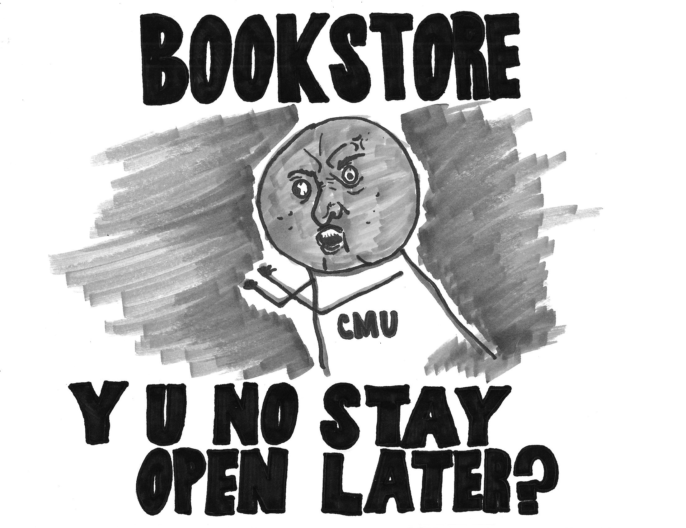 CMU bookstore should update hours to better match student schedules (credit: Christa Hester/Co-Publisher)