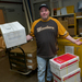 Mark Ladner, who has worked as mailroom coordinator for four and a half years, is changing positions.
