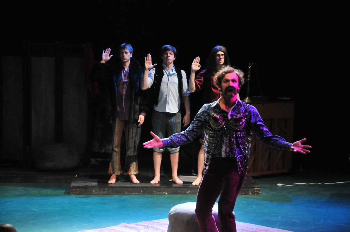 """Sophomore drama student Antonio Marziale starred as an actor in The Beatles Present: """"The Lord of the Rings: The Musical."""" (credit: Courtesy of Tom Strong)"""