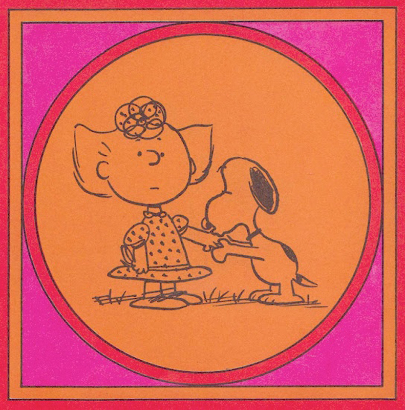Charles Schulz, creator of Peanuts, uses simple illustrations to explore notions of love. (credit: Courtesy of Hallmark Cards)