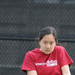 Senior Laura Chen dominated her matches at No. 1 singles and doubles this weekend.
