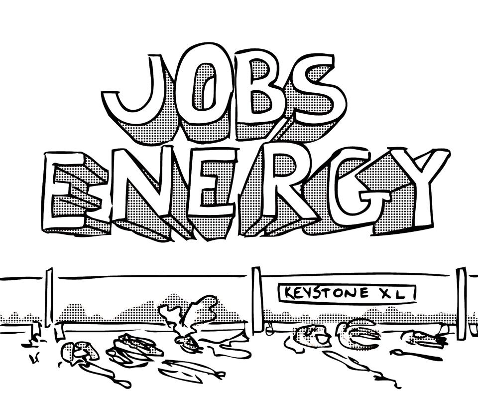 Pipeline construction could benefit economy (credit: Juan Fernandez/)
