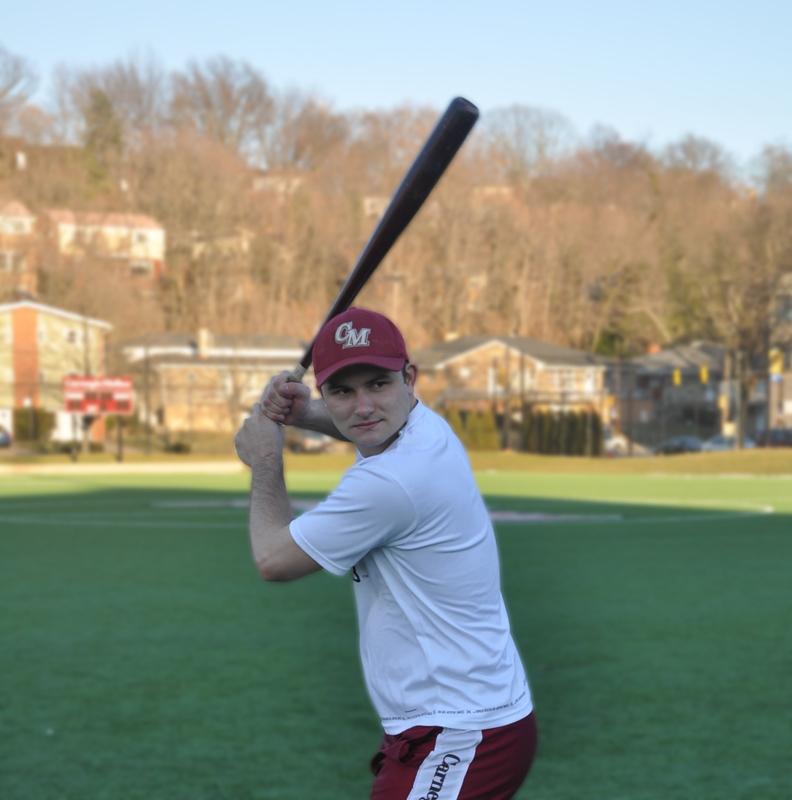 Wade Brogdon is the starting shortstop and president of the Carnegie Mellon club baseball team. (credit: Alan Vangpat/Layout Staff)