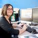 Robotics Institute graduate student Laura Trutoiu helps animators make facial movements seem more real.