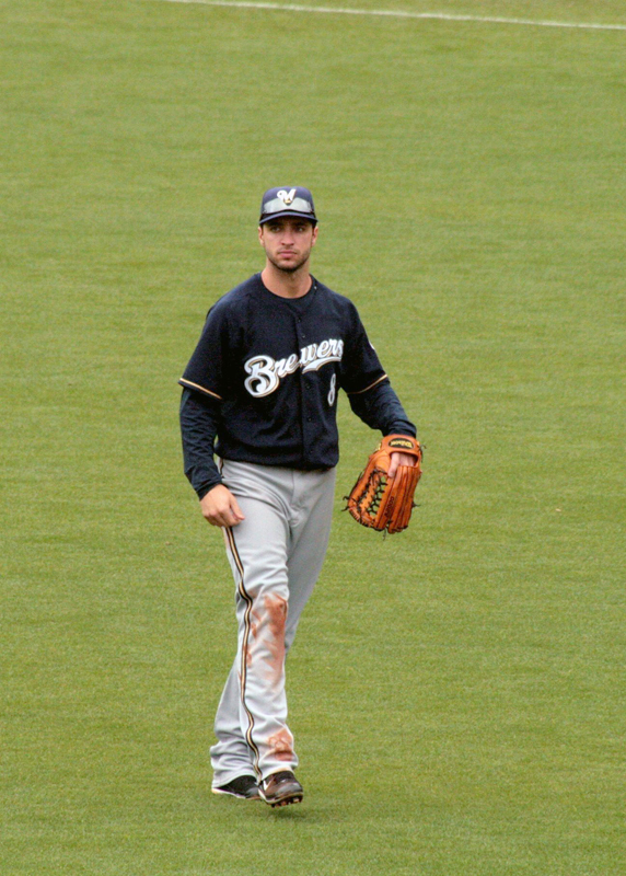 Milwaukee Brewers left fielder Ryan Braun successfully appealed charges of using performance-enhancing drugs. (credit: Courtesy of The Dana Files on Flickr Courtesy of The Dana Files on Flickr )