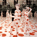"""Yayoi Kusama's """"Infinity Dots Mirrored Room,"""" part of a permanent installation, is among the attractions on  display at the Mattress Factory."""