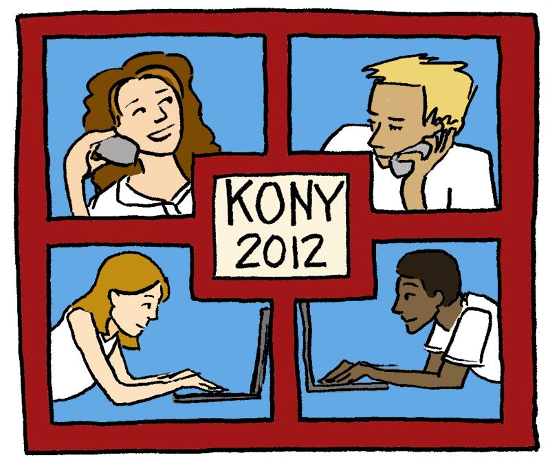 'Kony' a milestone in social media (credit: Adelaide Cole/Art Editor)