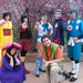 A group of Carnegie Mellon students in the Cosplay Club dressed up as Pokémon characters for Tekkoshocon last week.