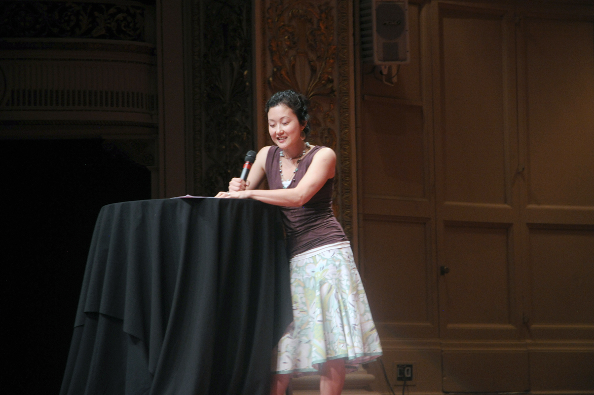 Housefellow Helen Wang described her personal journey to happiness.