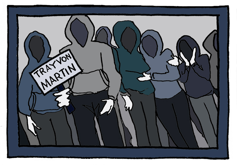 Trayvon Martin case shows social stigmas have yet to disappear (credit: Adelaide Cole/Art Editor)