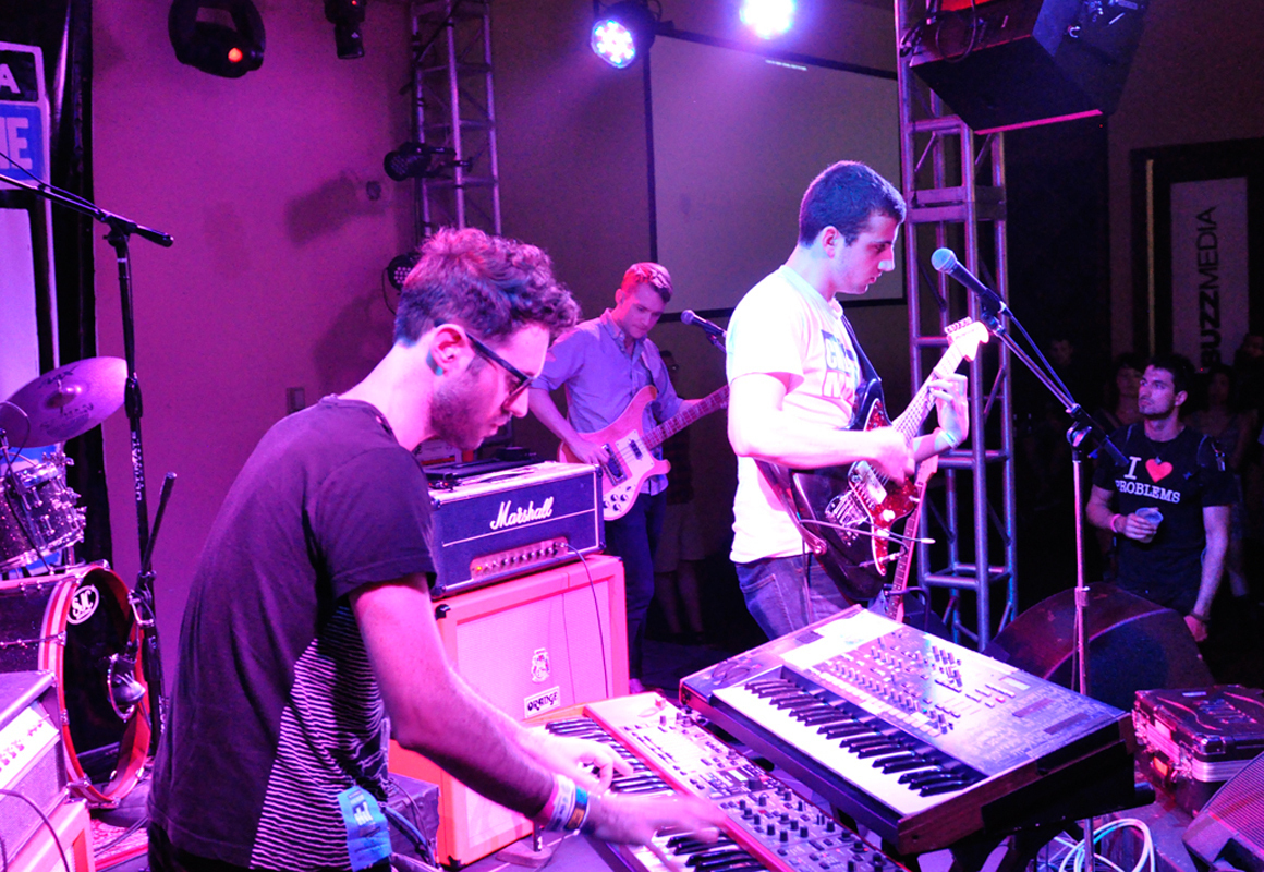 Cymbals Eat Guitars performed at South By Southwest in Austin, Tx. two weeks before continuing their tour to Pittsburgh. (credit: Courtesy of Jason Persse via Flickr)