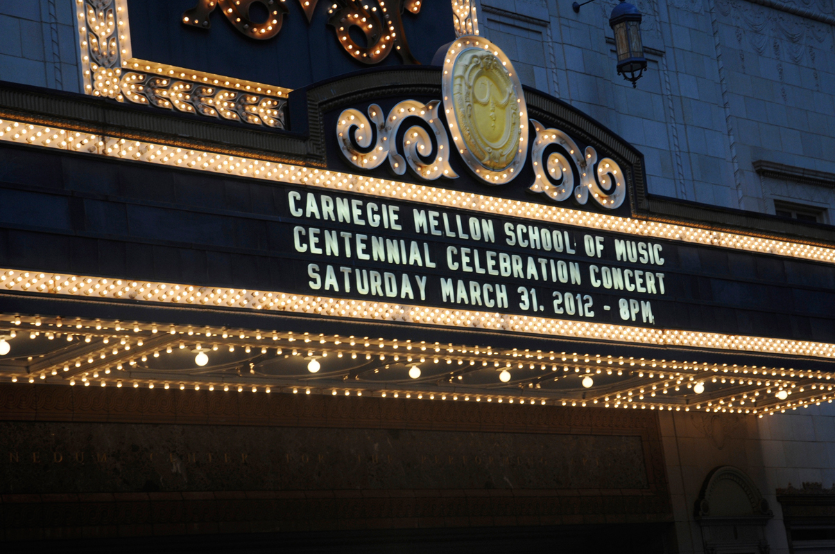 The Centennial Celebration Concert took place last Saturday at the Benedum Center in Downtown. The same concert will be performed on Monday at Carnegie Hall in New York City. (credit: Nicole Hamilton/Comics Editor)