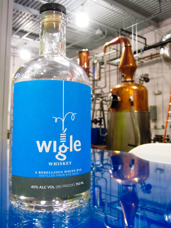 Wigle Whiskey remembers Philip Wigle's death by hanging sentence, from which he was pardoned, by including a noose in its logo. (credit: Daniel Tkacik/SciTech Editor)