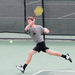 First-year Christian Heaney-Secord wins at No. 2 singles to clinch the match against Denison for the Tartans.
