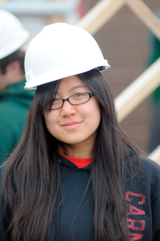 """Claire Chan Computer Science First-year  """"Amazing."""" (credit: Jonathan Carreon/Photo Editor and Jennifer Coloma/Operations Manager)"""