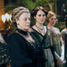 Actress Maggie Smith (center) stars on Downton Abbey, a show known for its accurate costuming.