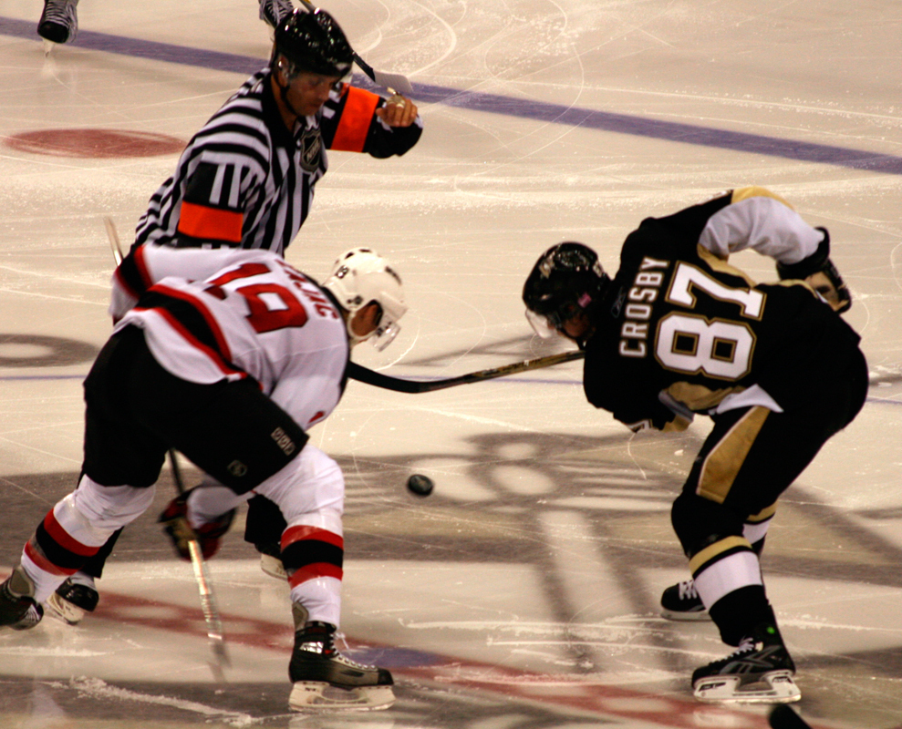 A healthy Sidney Crosby will be key for the Penguins next season. (credit: Courtesy of Thebeev via Flickr)