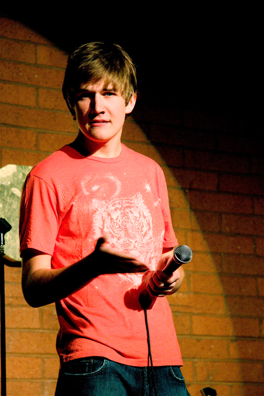 Bo Burnam's show features numerous types of entertainment, from singing to stand-up comedy to poetry reading. The show moves along quickly as Burnham translates his internet persona to the stage. (credit: Courtesy of Wikimedia Commons)
