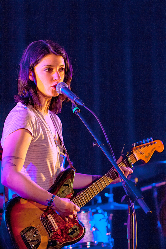Singer-songwriter Sharon Van Etten played an emotional show last Saturday, mixing songs from her most recent album with a few older tracks. (credit: Patrick Gage Kelley/Senior Photographer)