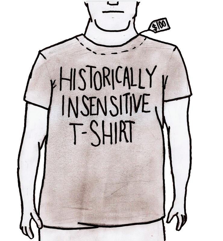 Retailer's insensitivity is appalling. (credit: Josh Smith/Forum Editor)