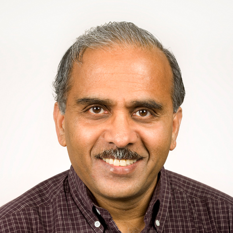 Newly-named interim Dean of the College of Engineering Vijayakumar Bhagavatula has been at Carnegie Mellon for over 30 years. Over the course of his career, he's taught 10 courses, graduated almost 40 Ph.D. students, and been involved with the university as a student, faculty member, and administrator. (credit: Courtesy of Vijayakumar Bhagavatula)