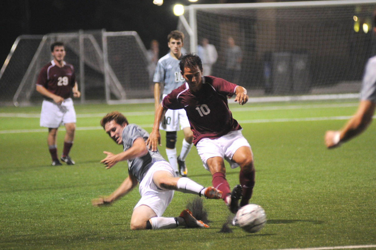 Carnegie Mellon is home to many varsity-level sports, including soccer, volleyball, and swimming. Most athletics are offered for men and women. (credit: Celia Ludwinski/Contributing Editor)