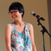 Comedian Charlyne Yi put on a surprising show for students during Orientation week.