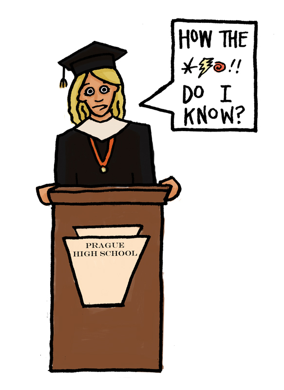 Withholding diplomas is a cheap move (credit: Adelaide Cole/Art Editor)