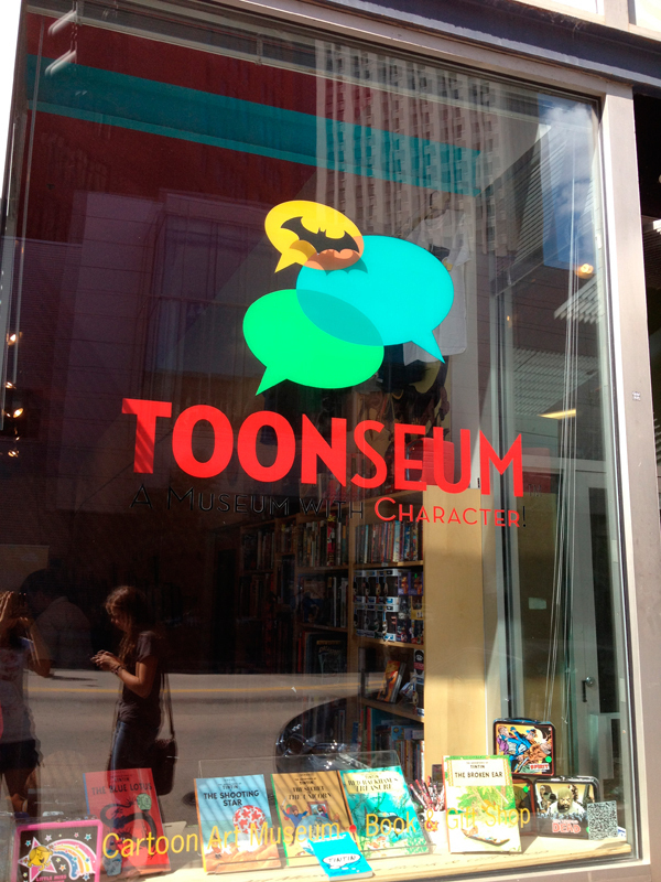 The ToonSeum, located at 945 Liberty Ave. in the Cultural District, will host the exhibit through Oct. 7. (credit: Laura Scherb/)