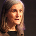 Amy Goodman spoke in McConomy Auditorium on Thursday.