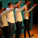 The Cambridge Footlights' performance was well-received by the audience.