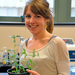Biomedical engineering doctoral student Mary Beth Wilson is working on how to make amaranth, a prevalent weed in developing countries, edible.