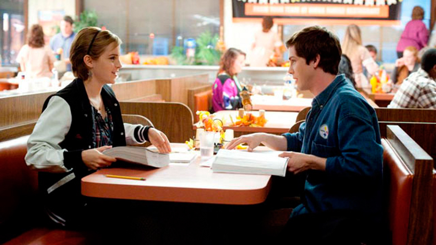 The Perks of Being a Wallflower follows the relationship between high school freshman Charlie (Logan Lerman) and his newfound friend and crush Sam (Emma Watson, shown above). (credit: Courtesy of perks-of-being-a-wallflower.com)