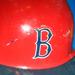 Carl Yastrzemski's batting helmet preserved in the Smithsonian.