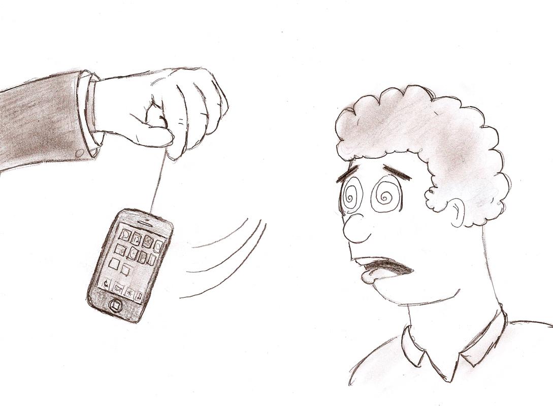 Smartphones create social crutch (credit: Josh Smith/Forum Editor)